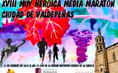 XVIII Medio Maratón Valdepeñas