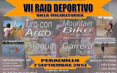 VII RAID DEPORTIVO VILLA DE MIGUELTURRA