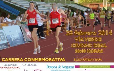 Carrera Conmemorativa Boda Fátima y Rafa