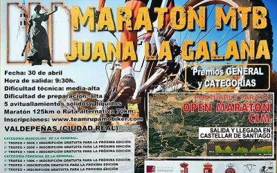 Maratón MTB Juana La Galana 2016
