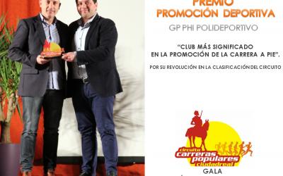 Gala Circuito Carreras Populares Ciudad Real 2016.