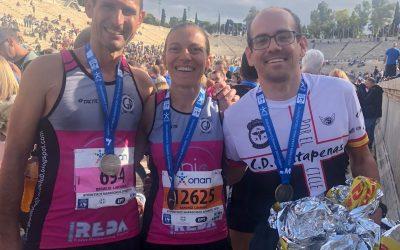 Maratón de Atenas 2019