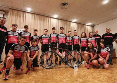 Equipo PHI GP Ciclista Cadete Presentación