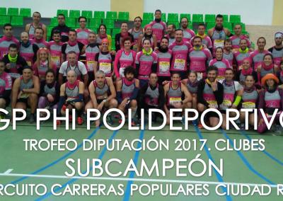 PHI Grupo Polideportivo Subcampeón 2017