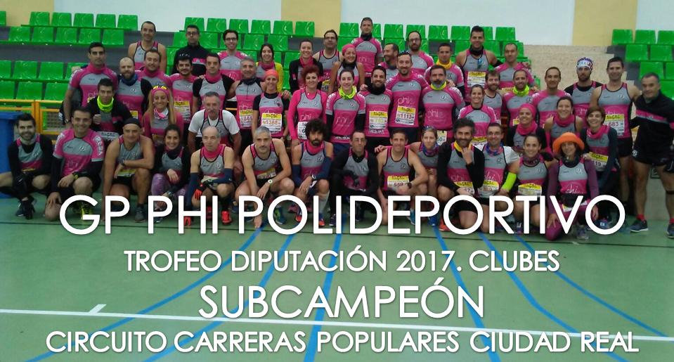 SUBCAMPEONES PHI Circuito 2017