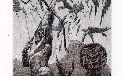 Las Aves del Estínfalo. Desafío Hércules 21.