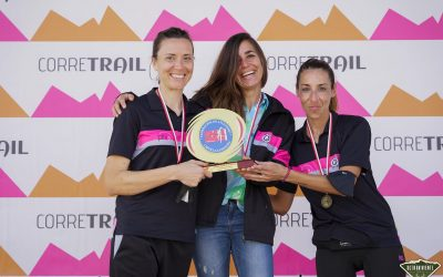 Campeonas de Castilla La Mancha de Trail. 2021.